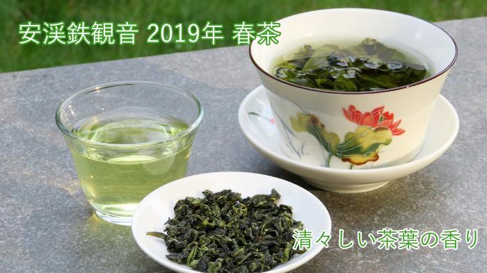 甘みのあるまろやかな味わいに、清々しい茶葉の香りが楽しめる 安渓鉄観音 2019年 春茶